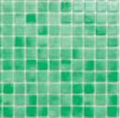 Mosaico Piscina Crystal Verde Claro Nacarado 31.7x31.7
