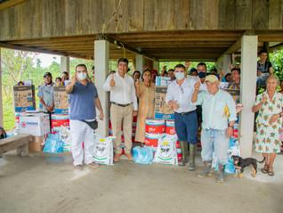 Sector pecuario de la provincia de Orellana recibe los PP2020