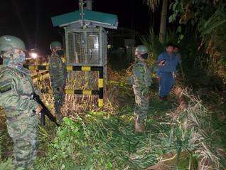 Militares hallan fuga en tubería de crudo