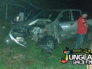 Tres personas resultaron heridas en accidente de tránsito en Jandiyacu