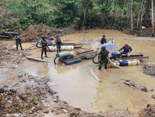 Minería ilegal en Cascales