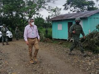 Hallaron droga en la frontera de Sucumbíos