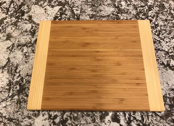 Bamboo, 2 tone cutting board