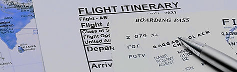 Flight booking for schengenvisa