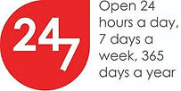 contact us -Open 24 hours