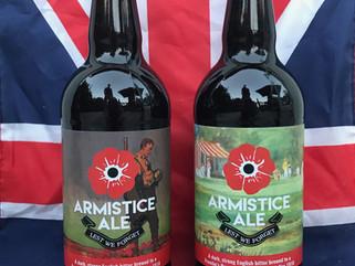 First World War Centenary Armistice Ale