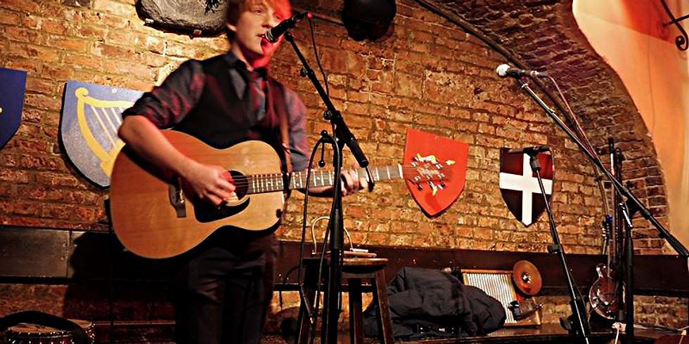 Jim Cain // Folk Music Fundraiser (Oasis Belgium), Elsene
