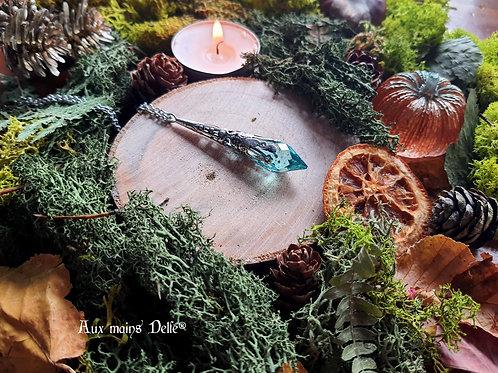 Larme d'Arwen Swarovski® (Vert) (argenté)