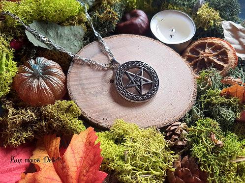 "Collier  ""Witch"" (spirale)"