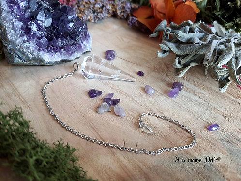 Pendule (Cristal de roche)
