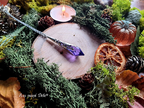 Larme d'Arwen (Violet)(argenté)