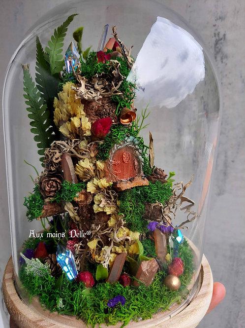 """Cloche """"L'arbre du petit peuple"""""""