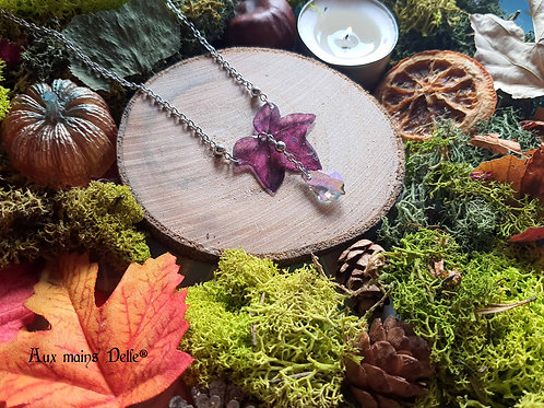 """Collier """"Fay"""" (violet)"""