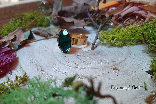 Enide (DORE) (cristal Swarovski®) (Vert)