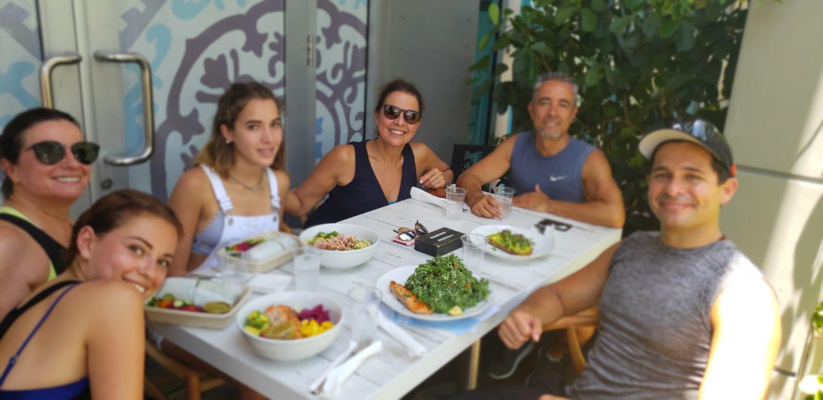Desayunos, almuerzos y cenas orgánicas, naturales y nutritivas, especialmente diseñadas para obtener