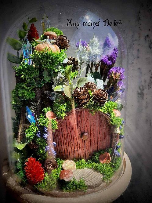 """Cloche """"L'arbre aux cristaux"""""""