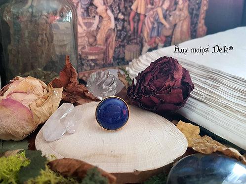 Eriane (Lapis Lazuli) Dorée-ronde