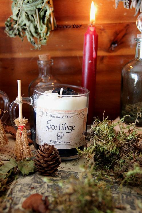 """Bougie """"Sortilège"""" (Bergamote)"""