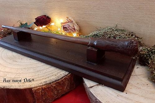 Porte baguette + Baguette 35.5 cm
