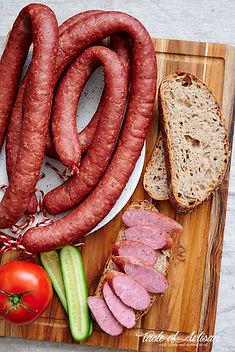 Homemade-polish-sausage-kielbasa-recipe-