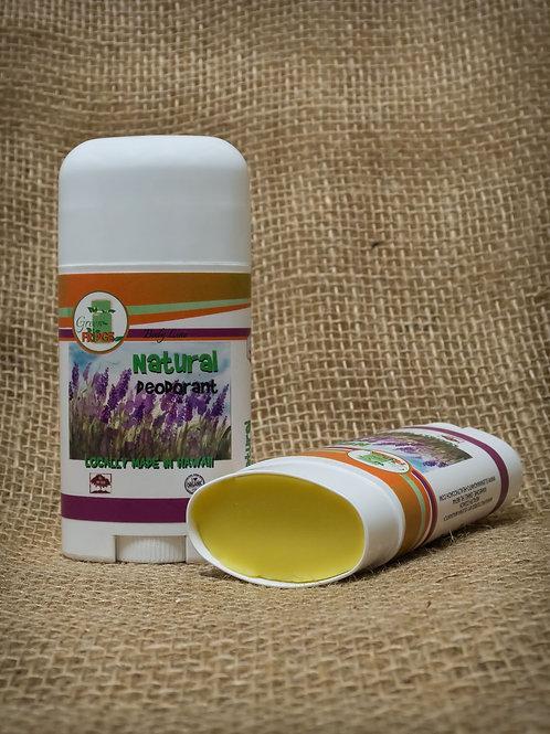 Effective Natural & Organic Deodorant, Aluminum free, Paraben free