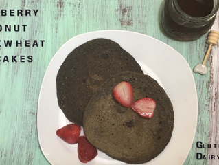 Blueberry Coconut Buckwheat Pancakes
