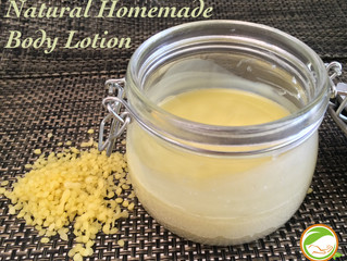 Natural Homemade Body Lotion
