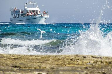 Cruise Approaching Shore