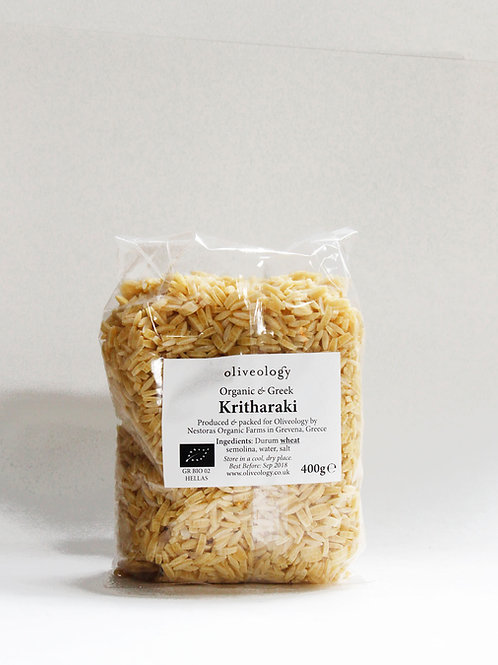 Organic Greek Kritharaki (Orzo) 400g