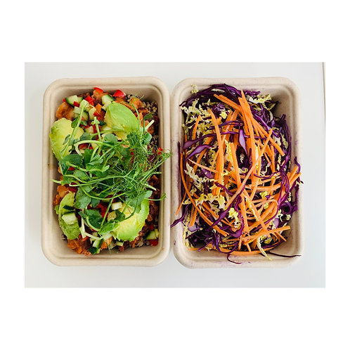 THE MODERN TABLE Mexican Bean & Sweet Potato Chilli with Chipotle Slaw