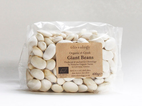 PULSES - Organic Greek Giant Beans Dried 400g