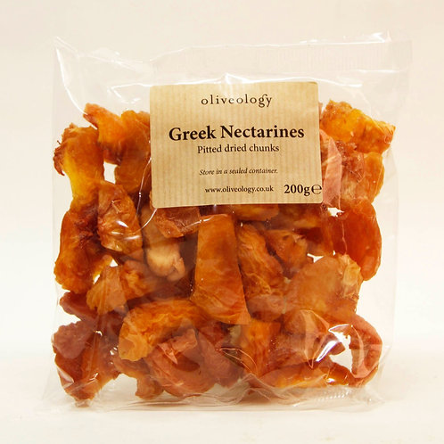 Greek Dried Nectarines 200g - Organic