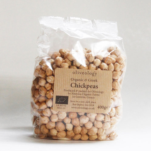 PULSES - Organic Greek Chickpeas Dried 400g