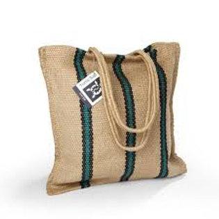 Turtle Bags: Stripey Tote Long Handle