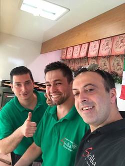 Vincenzo, Siciliano & Giacomo