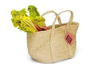 Turtle Bags: Jute Basket