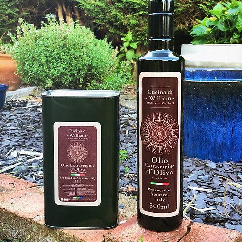 Extra Virgin Olive Oil Cucina di William