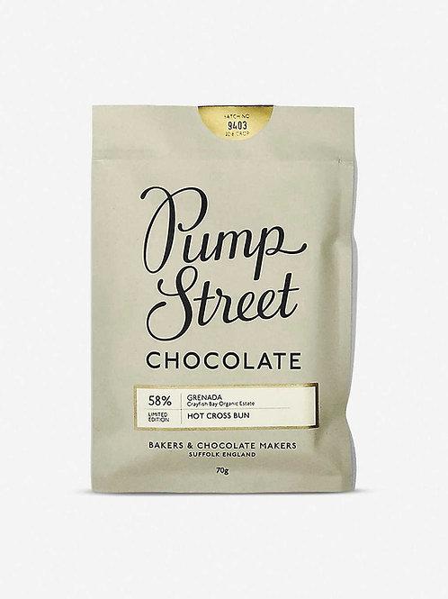 Pump Street Chcolate - Hot Cross Bun
