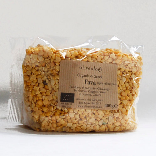 PULSES - Organic Greek Fava Dried 400g