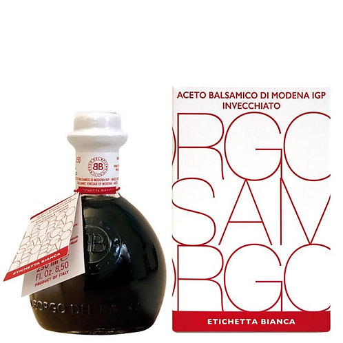 AGED BALSAMIC VINEGAR MODENA IGP (WHITE LABEL) 250ML