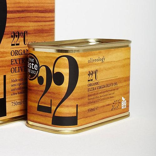 Organic Greek Olive Oil 22C 350ml