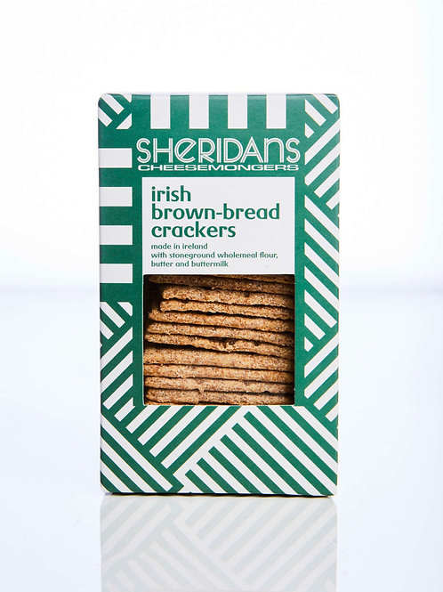 Crackers - Sheridans Brown Bread Crackers