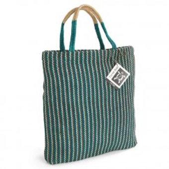 Turtle Bags: Teal Tote