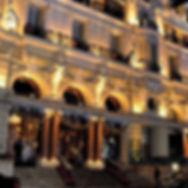Hôtel de Paris à Monaco...nous avons eu