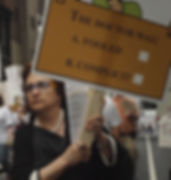 Still from documentary film Cause of Death: Unknown - APA Protest in Philadelphia