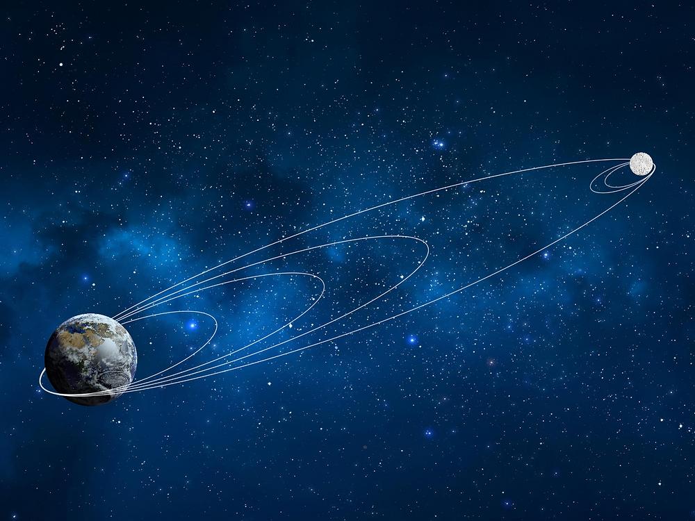 מסלול הטיסה של החללית