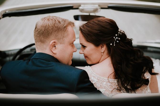 Hanna ja Martini vägev pulmapidu Kõue Mõisas