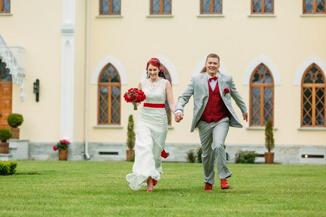 Marianne ja Valdiku põnev pulmapäev