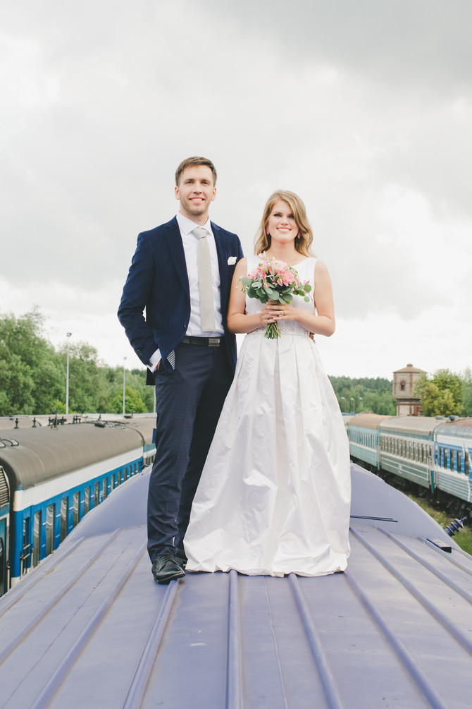 Mari ja Tarvo fantastiline pulmapäev Tallinnas