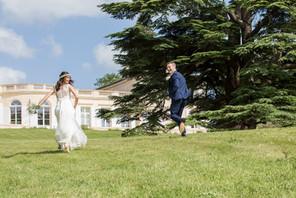"""Marie et Stuart se sont dit """"Oui!"""" le 8 juin, au Château Gassies."""